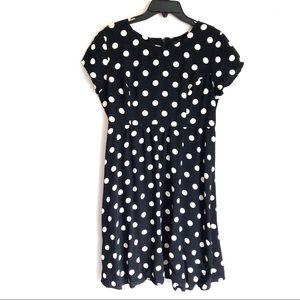 Topshop Maternity Polka Dot Dress